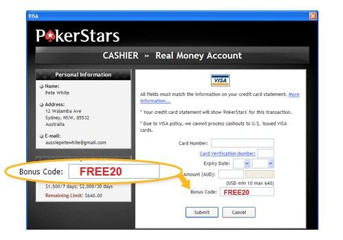 online poker bonus gratis